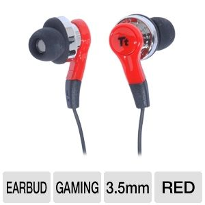 ThermalTake HT-ISU005EBRE ISURUS In-ear Headphones