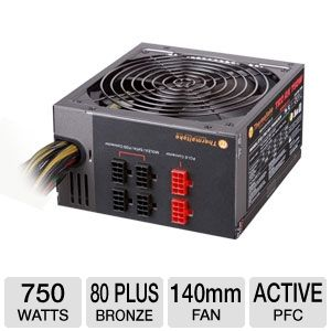 Thermaltake 750W Modular 80+ Bronze PSU