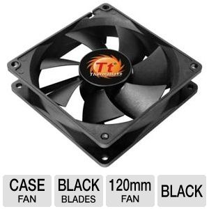 Thermaltake 120mm DuraMax 12 Two Ball Bearing Fan