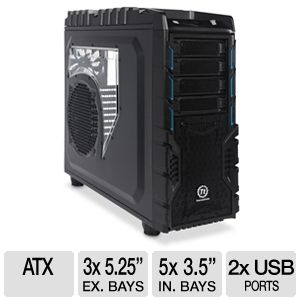 Thermaltake Overseer RX-I Computer Case + 700W PSU