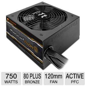 Thermaltake SMART 750W SP-750P Power Supply