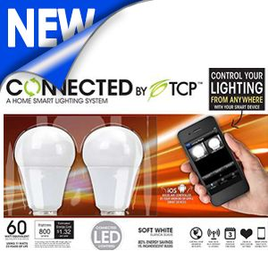 TCP Connected Smart LED Light Bulb Starter Kit