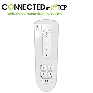 TCP Connected Wireless Remote Control - Controls Up To 250 bulbs, Works With All Connected Bulbs
