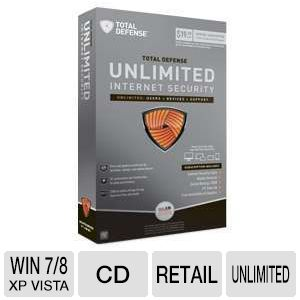 Total Defense Unlimited Internet Security 