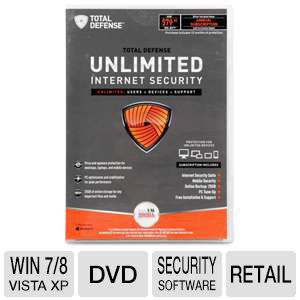 Total Defense Unlimited Security Software CC