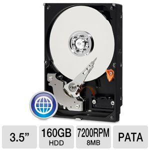"WD Blue 160GB Pata/Eide 3.5"" Desktop Hard Drive"