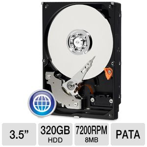 WD Blue 320GB Hard Drive (Refurbished)