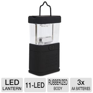 Mini 11-LED Black Lantern