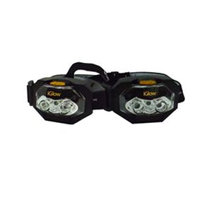 iGlow 3 LED Headlight With Batteries