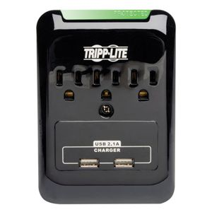 Tripp Lite Surge Suppressor with 2 USB Ports