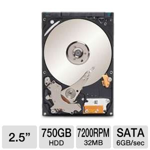 Seagate Momentus XT 750GB Hybrid Drive