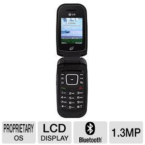 Tracfone LG 440G Double Minute Prepaid Cellphone