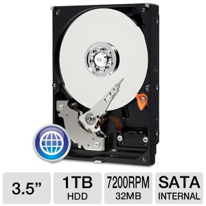 WD Blue 1TB Desktop Hard Drive