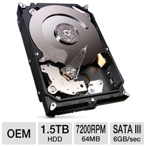 Seagate Barracuda 1.5TB Desktop Hard Drive