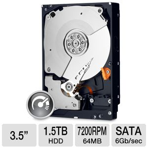 WD Black 1.5TB Desktop Hard Drive