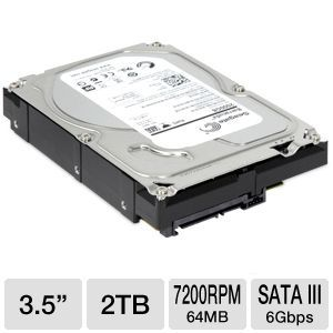 Seagate Barracuda 2TB Serial ATA Hard Drive