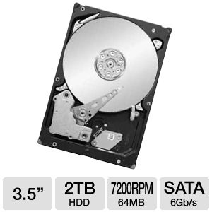 Seagate ST32000641AS Barracuda XT Hard Driv REFURB