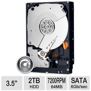 WD Black 2TB Desktop Hard Drive