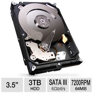 Seagate Barracuda 3TB Hard Drive