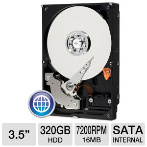 WD Blue 320GB Hard Drive