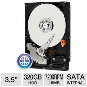 WD Blue 320GB Desktop Hard Drive