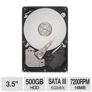 Seagate Barracuda 500GB Internal Hard Drive