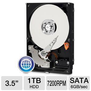 WD Blue 1TB Sata 3.5&quot; Desktop Hard Drive