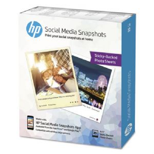 HP Social Media Snapshots Removable Stic