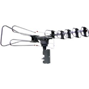 AMPLIFIED OUTDOOR TV ANTENNA WITH REMOTE