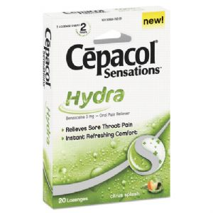 Cepacol� Sensations� Sore Throat Lozenge