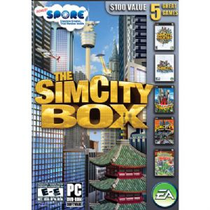SimCity Box Set DVD