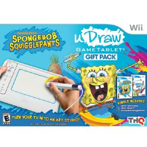 uDraw Tablet w/SpongeBob/Studio