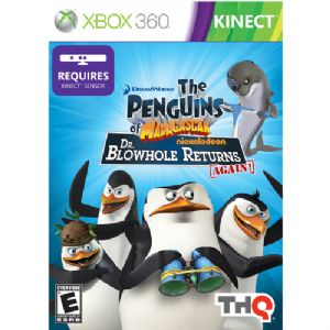 Kinect Penguins/Madagascar:Dr.Blowhole