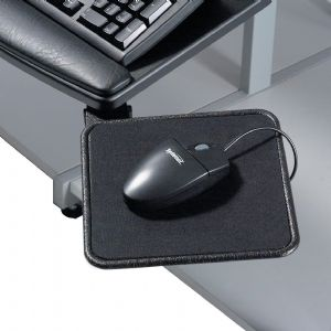 This functional tray with a wrist rest attaches be