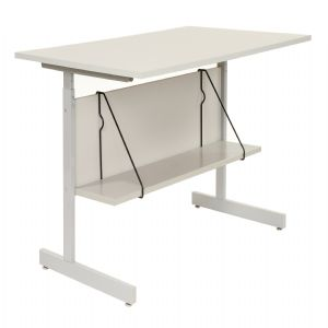 Accessory Shelf for Computer Workstation