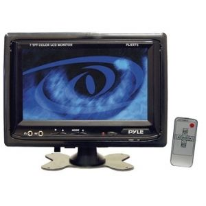 Pyle PLHR76 7&quot; Widescreen LCD Mobile Vid