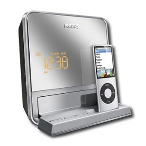 Philips DC190B/37 Digital FM Dual Alarm 
