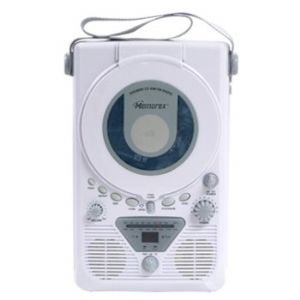 Memorex MC1001 AM/FM Shower Radio/CD Pla