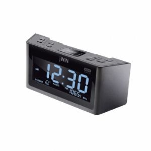 jWin JL355 Dual Alarm Clock with AM/FM R