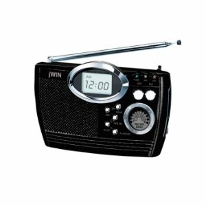 JWIN JXM17 Multi Band Portable Radio wit