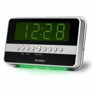 Jensen JCR-275 AM/FM Dual Alarm Clock Ra