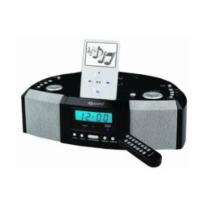 Supersonic IQ-1305 Alarm Clock CD Player