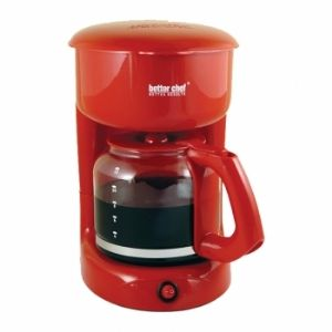 Better Chef IM-114R 12-cup Red Coffeemak
