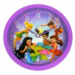Disney DC94884 Fairies Wall Clock