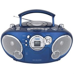 Naxa NX-207LQ Portable CD AM/FM Stereo R