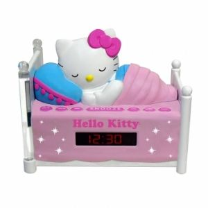 Hello Kitty KT2052 Sleeping AM/FM Clock
