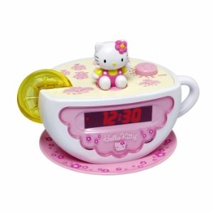 Hello Kitty KT2055 Digital Clock Radio w