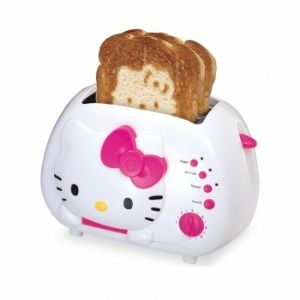 Hello Kitty KT5211 2-Slice Wide Slot Toa