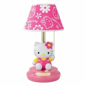 Hello Kitty KT3095 Hello Kitty Table Lam