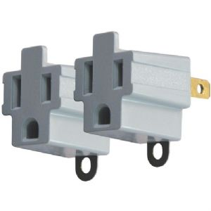 3-PRONG TO 2-PRONG ELECTRICAL ADAPTER, 2